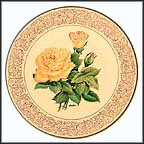 Peace Rose Collector Plate by Edward Marshall Boehm