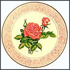 Tropicana Rose Collector Plate by Edward Marshall Boehm MAIN