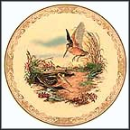 American Woodcock Collector Plate by Edward Marshall Boehm MAIN