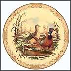 Ring-Necked Pheasant Collector Plate by Edward Marshall Boehm MAIN