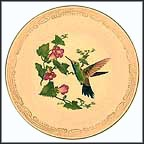 Broad-Bill Hummingbird Collector Plate by Edward Marshall Boehm MAIN