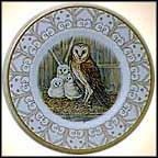 Barn Owl Collector Plate by Edward Marshall Boehm MAIN