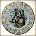 Boreal Owl Collector Plate by Edward Marshall Boehm