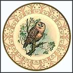 Northern Barred Owl Collector Plate by Edward Marshall Boehm MAIN