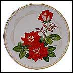 The Love Rose Collector Plate by Edward Marshall Boehm MAIN