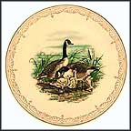 Canada Geese Collector Plate by Edward Marshall Boehm