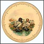 Canvasbacks Collector Plate by Edward Marshall Boehm MAIN