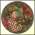 Christmas Morning Collector Plate by Violet Parkhurst