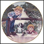 Daisies For Mother Collector Plate by Violet Parkhurst