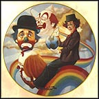 Rainbow's End Collector Plate by Chuck Oberstein