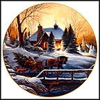 Heading Home Collector Plate by Terry Redlin MAIN