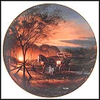 Morning Rounds Collector Plate by Terry Redlin