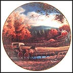 Wednesday Afternoon Collector Plate by Terry Redlin
