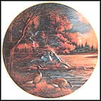 Afternoon Glow Collector Plate by Terry Redlin