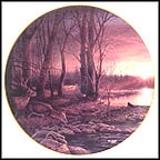 Morning Glow Collector Plate by Terry Redlin MAIN