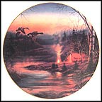 Twilight Glow Collector Plate by Terry Redlin MAIN