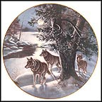 Timberwolves Collector Plate by James A. Meger