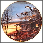 Evening Retreat Collector Plate by Terry Redlin MAIN