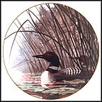 Quiet Water Collector Plate by Les Didier