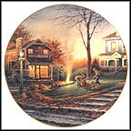 Aroma Of Fall Collector Plate by Terry Redlin MAIN