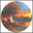 Evening Solitude Collector Plate by Terry Redlin