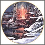 Sharing The Solitude Collector Plate by Terry Redlin MAIN