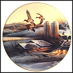 Evening Company Collector Plate by Terry Redlin