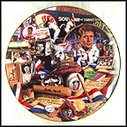 Mementos Of The Mick Collector Plate by David M. Spindel