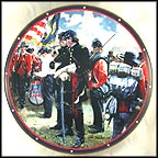 Assembling The Troops Collector Plate by Don Prechtel