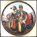 Standing Watch Collector Plate by Don Prechtel