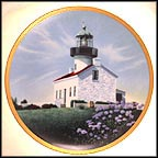 Old Point Loma Light Collector Plate by Howard Koslow MAIN