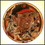 The Exceptional Brooks Robinson Collector Plate by Robert Tanenbaum