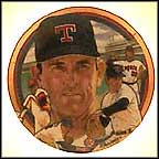 The Incredible Nolan Ryan Collector Plate by Robert Tanenbaum