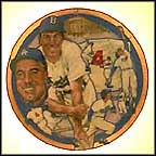 The Unbeatable Duke Snider Collector Plate by Robert Tanenbaum