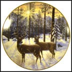 Evening's Silence Collector Plate by Jeff Tift