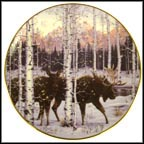 Forest Twilight Collector Plate by Jeff Tift