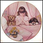 Bedtime Blessings Collector Plate by Patricia Brooks