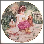 Newfound Friends Collector Plate by Patricia Brooks