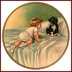 Who's Sleepy Collector Plate by Bessie Pease Gutmann