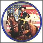 George Armstrong Custer Collector Plate by Michael Gnatek