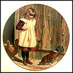Barnyard Breakfast Collector Plate by Jim Daly