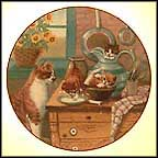 Table Manners Collector Plate by Gré Gerardi
