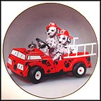 To The Rescue Collector Plate
