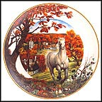 Autumn Grandeur Collector Plate by John Michael Vass