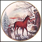Frosty Morning Collector Plate by John Michael Vass