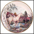 River Retreat Collector Plate by John Michael Vass