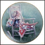 The Rocking Chair Collector Plate by Nancy A. Noel