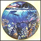 Sphere Of Life Collector Plate by John Enright