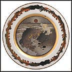 The Rabbit Who Crossed The Sea Collector Plate by Shigekazu Hotta