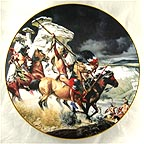 The Ambush Collector Plate by Frank McCarthy